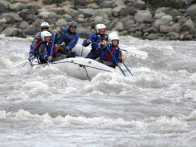 Alaska white water rafting, Kennicott River Rafting
