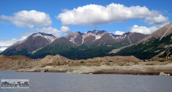 Kayaking Trips in Alaska, Alaska Kayak Tour, Kennicott Glacier Lake