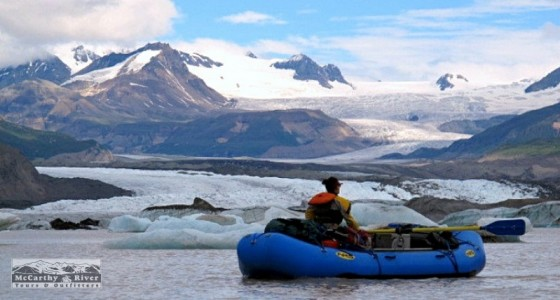 Boating Among Glaciers, Nizina River