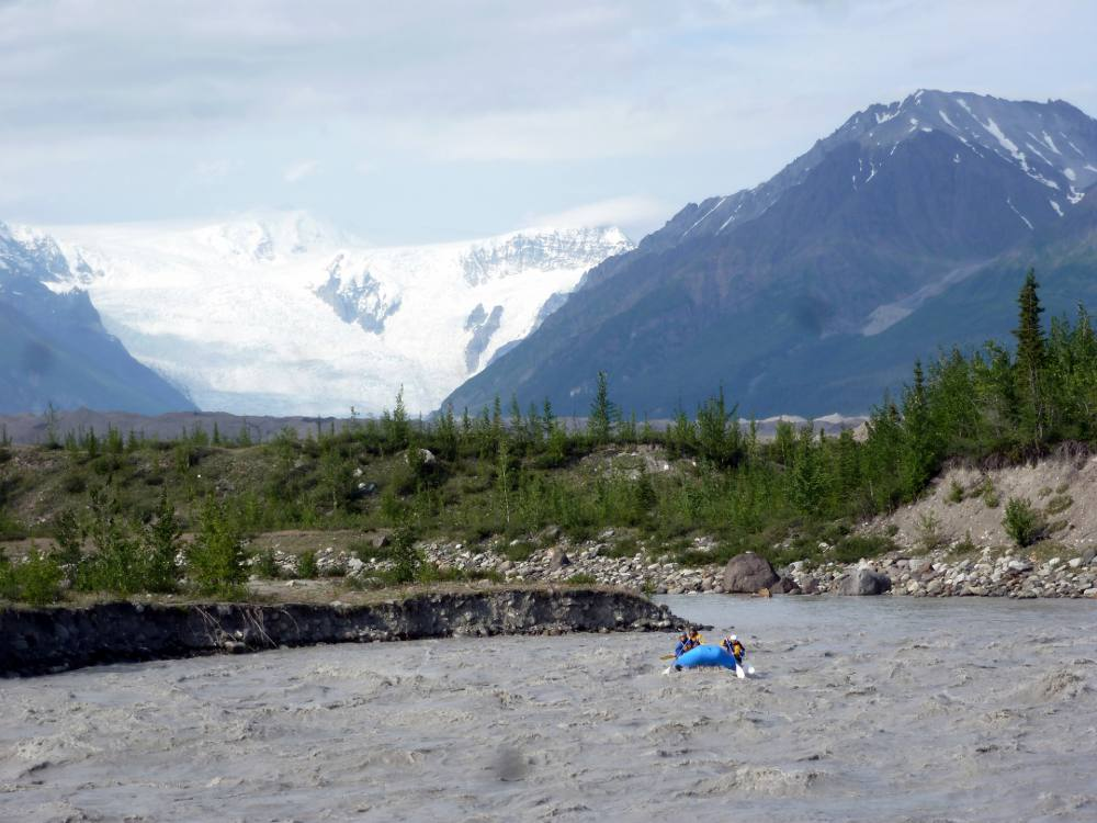 Raft The Wrangells Alaska White Water Rafting Kennicott