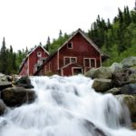 National Creek and Kennecott Bunkhouse